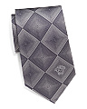 Made In Italy Squares Silk Tie