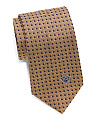 Made In Italy Silk Squares Tie