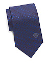 Made In Italy Silk Diamonds Tie