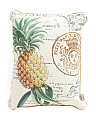 14x18 Indoor Outdoor Pineapple Pillow