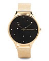 Women's Anita Constellation Dial Mesh Strap Watch