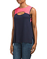Made In USA Colorblock Keyhole Tank