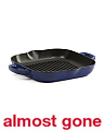 Made In France Cast Iron American Square Grill Pan