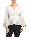Moroccan Bell Sleeve Top
