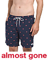 San O Crabs Embroidered Swim Shorts