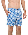 Optical Mod Print Swim Shorts