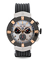 Men's Swiss Made Celtica Chronograph Rubber Strap Watch