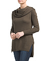 Juniors Wear Two Ways Cowl Neck Sweater