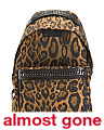 Made In Italy Leopard Falabella Backpack