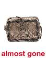 Made In Italy Metallic Python Falabella Crossbody