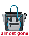 Made In Italy Leather Micro Luggage Tote