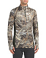 Coldgear Quarter Zip Camo Top