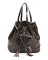 Made In Italy Drawstring Leather Bag