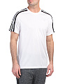 Short Sleeve 3 Stripe Tee