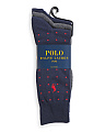 3pk Dress Socks