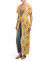 Juniors Made In USA Maxi Kimono