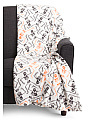 Dancing Skeletons Plush Throw