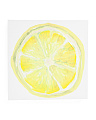16x16 Lemon Print Canvas Wall Art