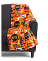 Halloween Words Plush Throw