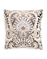 20x20 Chainstitch Velvet Pillow