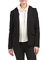 Cable Knit Insert Blazer