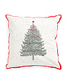 21x21 Festive Tree Pillow
