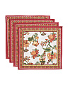 Made In India Set Of 4 Perlitta Placemats