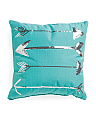 20x20 Sequined Arrow Pillow