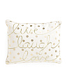 14x18 Live Laugh Love Pillow