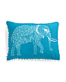 14x18 Reversible Elephant Pillow
