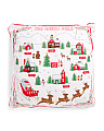 22x22 Santas Village Pillow