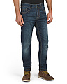 Stretch Slim Jeans With Back Flap