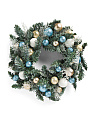 24in Glitter Ornament Wreath