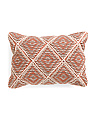 Made In India 14x20 Textured Medallion Pillow