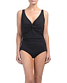 Sapphire Twist One-piece Swimsuit
