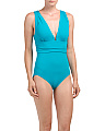 Emerald Cut One-piece Swimsuit