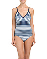 Made In USA Soft Cup One-piece Swimsuit