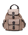 Made In Italy Large Leather Backpack