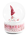 Christmas Gnome Snow Globe