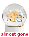 Mr And Mrs Snow Globe