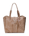 Zoya Leather Tote