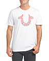 Horseshoe Verbiage Elongated Tee