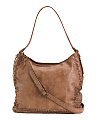 Made In Italy Vacchetta Leather Hobo