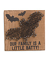 Little Batty String Art Sign