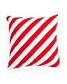 20x20 Candy Cane Stripe Pillow