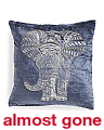 Made In India 18x18 Velvet Pillow