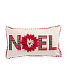 14x24 Wool Blend Plaid Noel Pillow