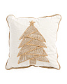 Made In India 18x18 Natural Tree Pillow