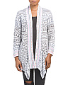 Maze Meadows Draped Cardigan