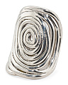 Made In Israel Sterling Silver Spiral Ring